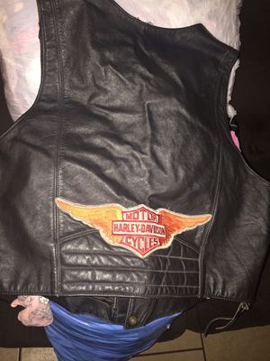 Harley Davidson leather vest for Sale in El Monte, CA