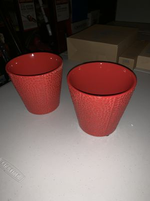 6 inch flower pots for Sale in Severn, MD
