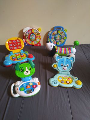baby toys $6 each for Sale in Long Beach, CA