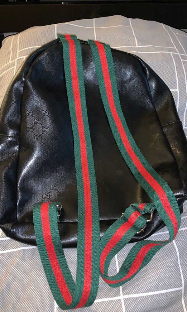 G black Backpack bag