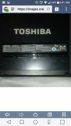 Toshiba Laptop Battery Model # PA3534U-1BRS (Pick Up Only, Cash Only) for Sale in Brooklyn, NY