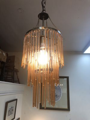Vintage Glass beaded chandelier for Sale in Orlando, FL