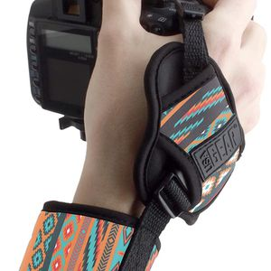 USA GEAR Professional Camera Grip Hand Strap with Southwest Neoprene Design and Metal Plate - Compatible with Canon , Fujifilm , Nikon , Sony and more for Sale in Redlands, CA