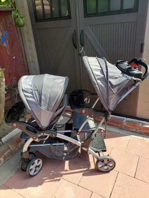 Sit N Stand Double Stroller $60. for Sale in San Lorenzo, CA