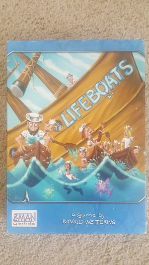 Lifeboats Board game for Sale in San Diego, CA