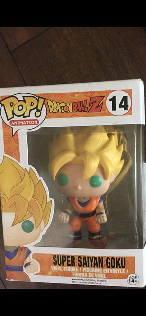 New,Funko POP Anime Dragonball Z Super Saiyan Goku Vinyl Figure for Sale in Puyallup, WA