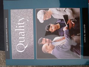 Quality management book for Sale in Stone Mountain, GA