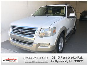 2007 FORD EXPLORER EDDIE BAUER !! $1000 DOWN !! CLEAN TITLE !! for Sale in Hollywood, FL