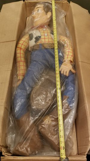 """Toy Story 1995 Woody 48"""" Tall Pixar VERY RARE DISNEY for Sale in Cypress, CA"""