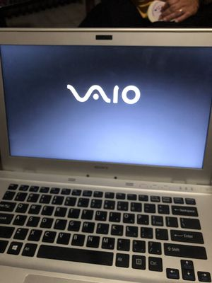 15 inches Sony VAIO i7 processo. 8 GB memory ram. Model SVT141A11L. It needs a hardrive for Sale in Boston, MA