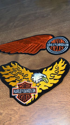 Harley Davidson patches (vintage) for Sale in St. Peters, MO