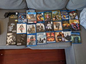 25 Blu-ray movies and Sony Blu-ray player for Sale in Virginia Beach, VA