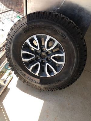 Raptor tire and rim for Sale in Odessa, TX
