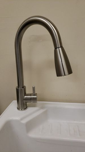 Pull Down Kitchen Faucet - Available in Stainless Steel & Chrome for Sale in Bakersfield, CA