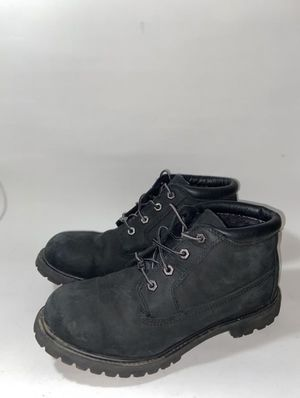 $30 Timberland Womens Nellie NuBuck Round Toe Ankle Working Boots, Black, Size 10.5 Women's for Sale in Brooklyn, NY