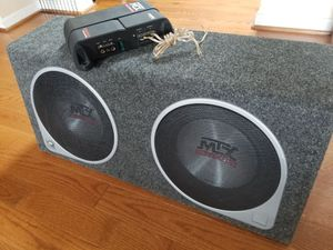 MTX Audio Amplifier for Sale in Manassas, VA