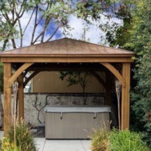 Metalic Blue Spa With 40 Chrome Jets & Lounger for Sale in San Dimas, CA