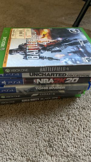 PS4 + XBOX ONE GAMES for Sale in Hawthorne, CA