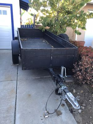 9' x 4' utility trailer with spare tire for Sale in San Diego, CA