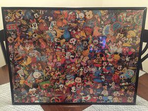 Disney puzzle framed for Sale in Smyrna, TN