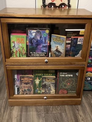 Small barrister lawyers bookcase for Sale in Phoenix, AZ