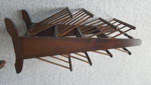 wooden magazine holder for Sale in Harrisonburg, VA