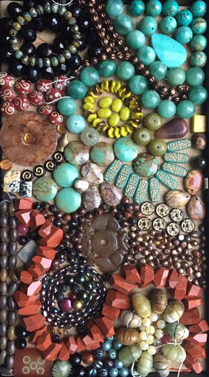 Gemstone & glass beads for jewelry making for Sale in Seattle, WA