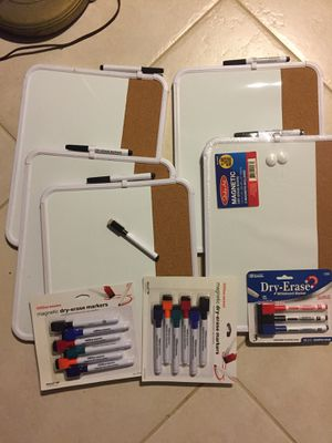 Whiteboards and markers for Sale in Rancho Cucamonga, CA
