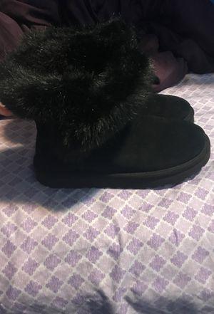 Black Fur Ugg Boots for Sale in Washington, DC