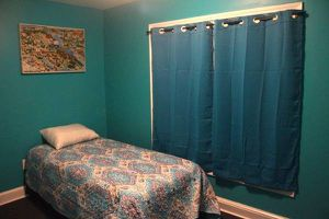 Twin bed with metal frame for Sale in East Point, GA