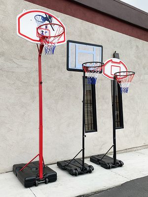NEW Junior Basketball Hoop (Small $45, Medium $65, Large $75) for Sale in Downey, CA