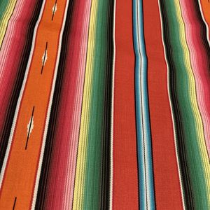 """Sarape (Serape) Cotton Print Infinity Scarf - Approximately 13"""" wide by 20"""" long for Sale in Chicago, IL"""