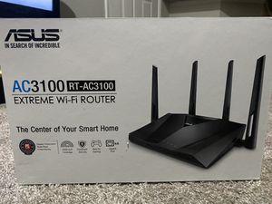 ASUS ROUTER (AC3100 EXTREME WIFI) for Sale in Spring Branch, TX