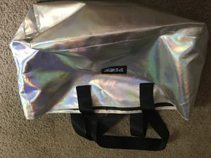 New Victoria Secret Pink silver tote bag for Sale in Lakewood, CO