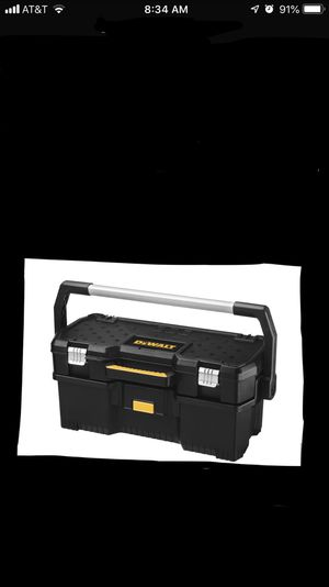 DEWALT 24 in. 2-in-1 Tote with Removable Power Tool Case for Sale in North Las Vegas, NV