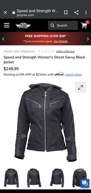 Speed and Strength Women's Street Savvy Motorcycle Jacket for Sale in Phillips Ranch, CA
