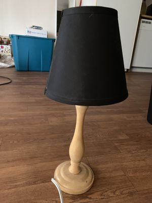 Small black lamp for Sale in Las Vegas, NV