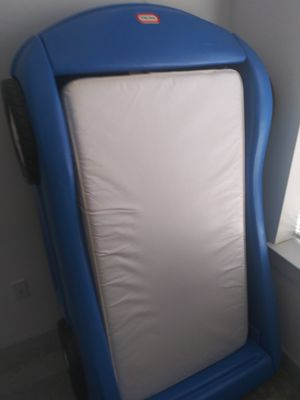 Toddler car bed frame w/ mattress for Sale in Alexandria, VA