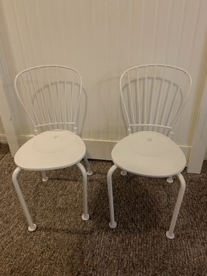 Two kids iron chairs for Sale in Winter Garden, FL