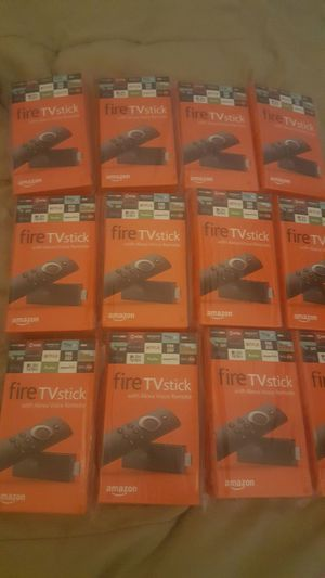 AMAZON VOICE COMMAND FIRESTICKS UNLOCKED for Sale in St. Louis, MO