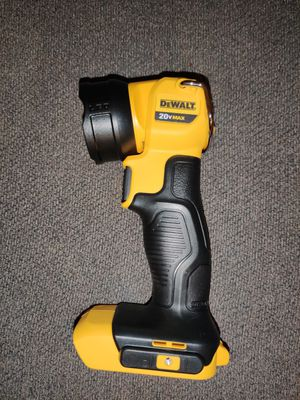 DeWalt LED Work Light - Tool Only for Sale in Phoenix, AZ