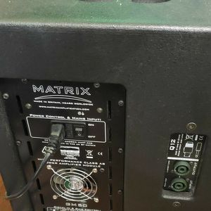 Matrix Q12a Active Powered FRFR Monitor Speaker Cab for Sale in Oceanside, CA