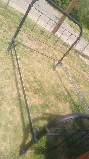 Vintage iron bed for Sale in Abilene, TX