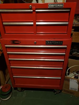 Craftsman bottom box possibly middle chest if money is right for Sale in Worcester, MA