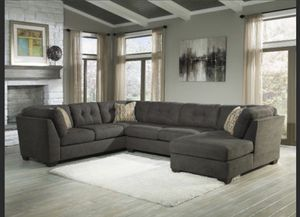New (never used with tags) sectional sofa + 1 couch and matching ottoman all for $950.00 for Sale in Chicago, IL