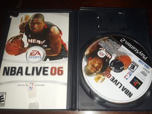 3x$10 Ps2 NBA LIVE, NFL MADDEN, Virtua Fighter for Sale in Indio, CA