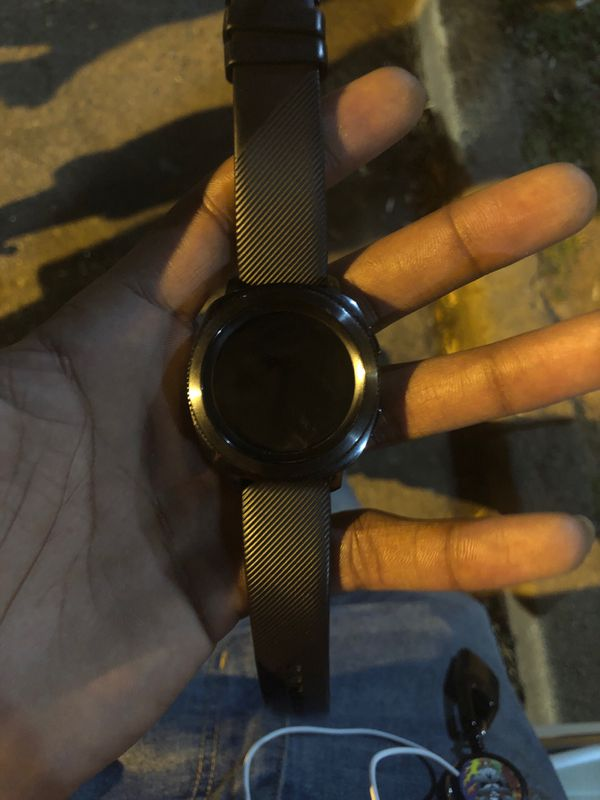 Samsung gear sport watch