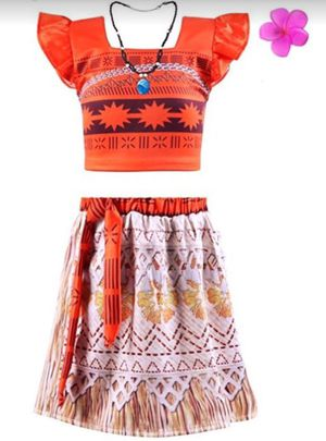 Moana costume for 7-9 yr old girl for Sale in Flower Mound, TX