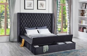 Storages bed frame-free delivery for Sale in Atlanta, GA