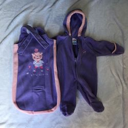 2 Fleece Outfits Size 3-6 Months for Sale in Alameda,  CA